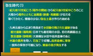 弥生時代(1)