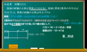 平均の和差算の解説