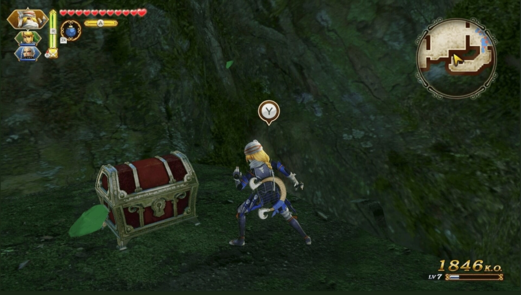 ゼルダ無双 神秘の森の魔女 ハートの器