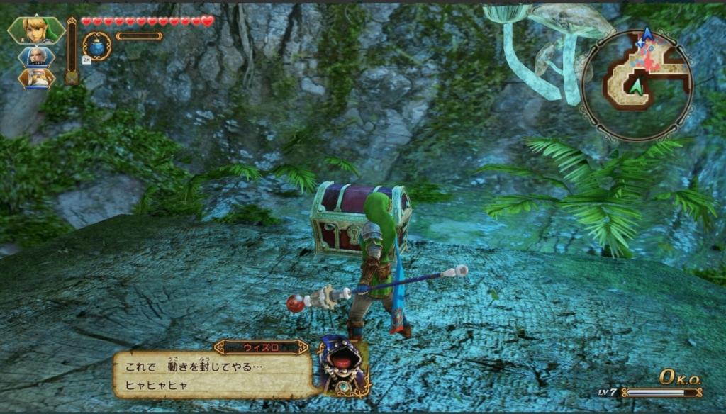 ゼルダ無双 神秘の森の魔女 弓と矢